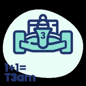 1+1= Team